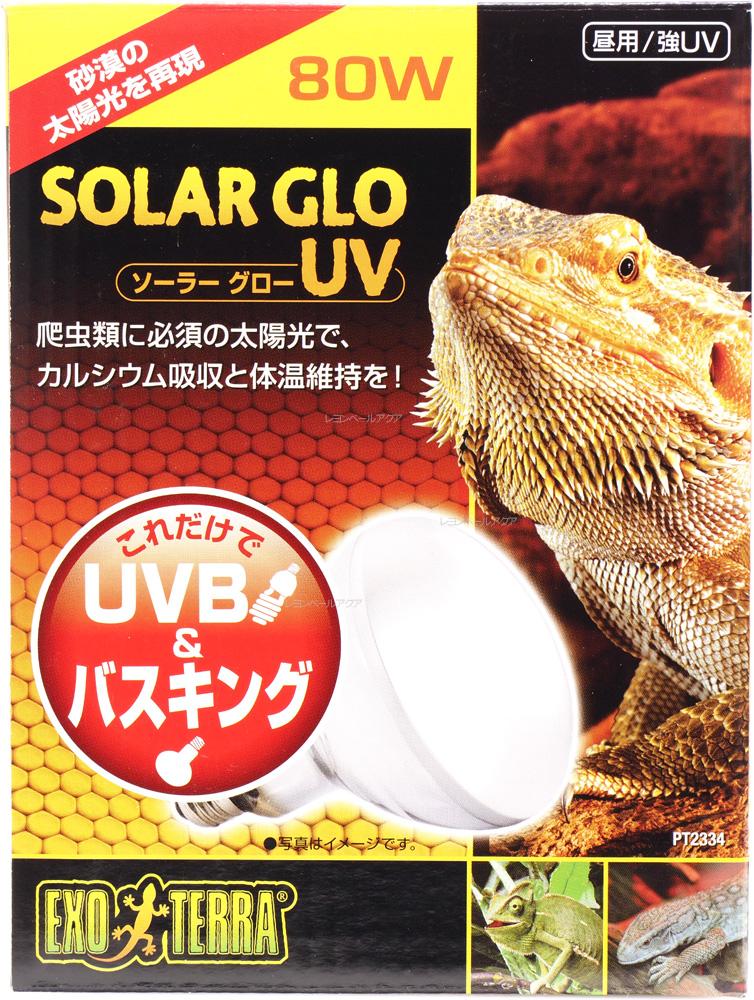 砂漠の太陽光を再現 全国送料無料 在庫有り 即OK 往復送料無料 GEX 80W 昼用 強UV ソーラーグローUV 公式ショップ PT2334