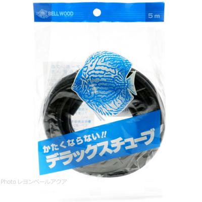 【全国送料無料】【在庫有り!!即OK】スドー エアーチューブ デラックスチューブ 5m黒