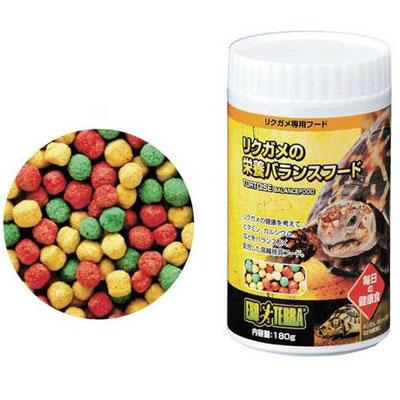 (訳あり)GEX リクガメの栄養バランスフード 180g 【在庫有り】(消費期限2019/06)