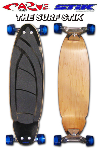 CARVE BOARD SURF STIK BLACK 7PLY or 8PLY 715005