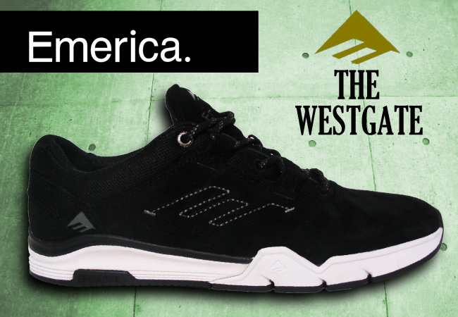 EMERICA THE WESTGATE G6 BLACK/WHITE [fs04gm]715005