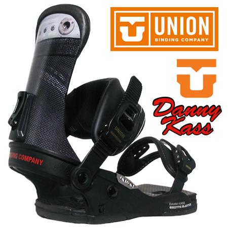 UNION BINDING DANNY KASS カラー BLACK 【ユニオン バインディング フォース】【ダニーキャス スノーボード】【限定モデル】【送料無料】