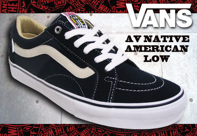 3a42aae340 Pro Shop RBS  VANS AV NATIVE AMERICAN LOW NAVY  fs04gm