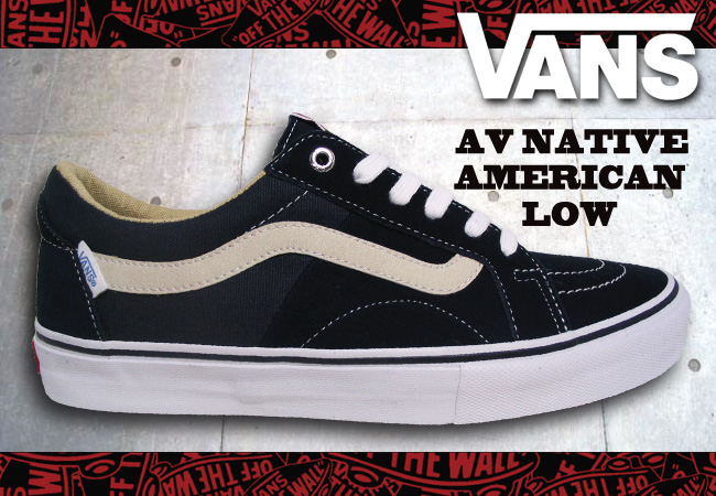 Pro Shop RBS  VANS AV NATIVE AMERICAN LOW NAVY  fs04gm   8fb718967