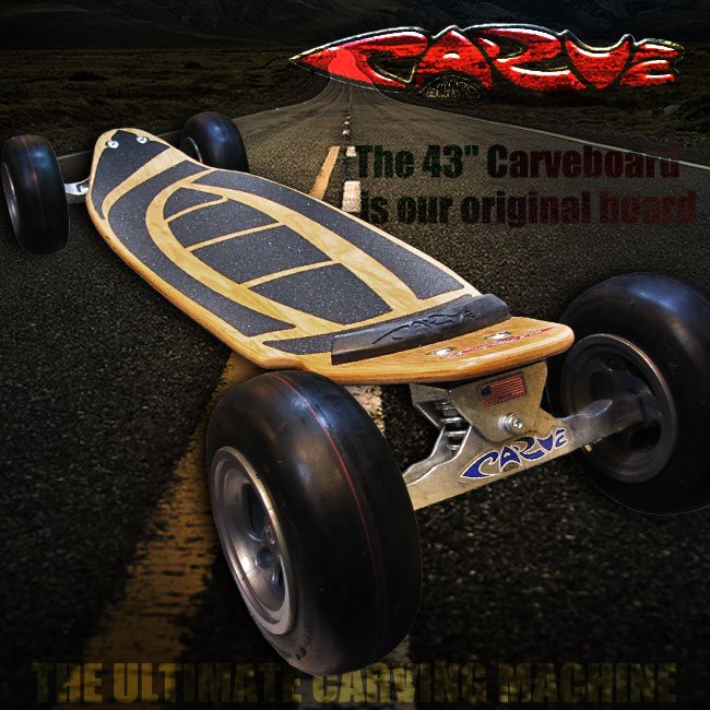 CARVE BOARD THE WAVE彩色NATURAL 715005