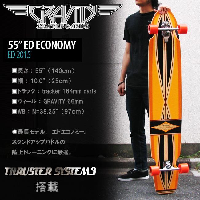 GRAVITY スケートボード ED-55