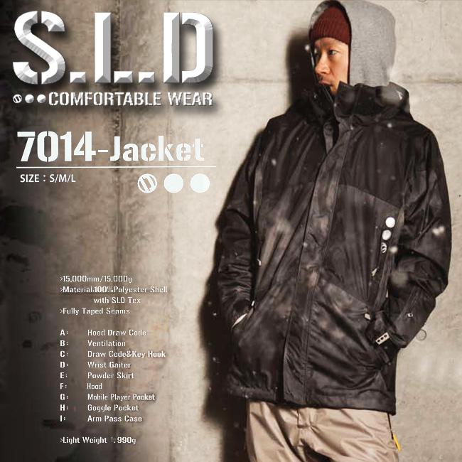 SLD エスエルディー 7014-JACKET 【ソールドアウト S.L.D】【 スノーボード ウエア 】【送料無料】【取り寄せ商品】