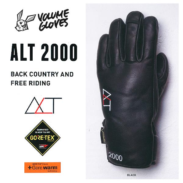 17-18 モデル VOLUME GLOVES ALT 2000 GORE-TEX ゴアテックス 【2018 ボリュームグローブ スノーボード】【日本正規品】