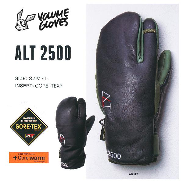 17-18 モデル VOLUME GLOVES ALT 2500 GORE-TEX ゴアテックス 【2018 ボリュームグローブ スノーボード】【日本正規品】