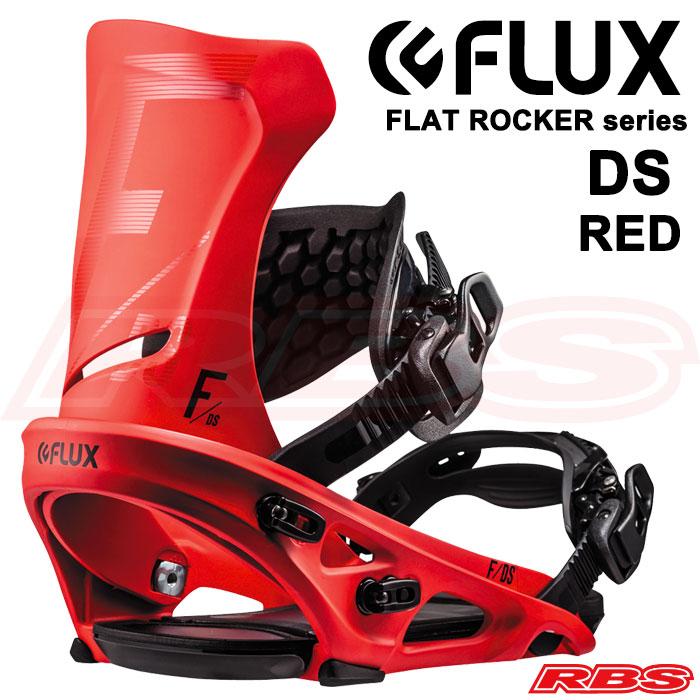 FLUX BINDINGS バインディング DS カラー RED 【フラックス ビンディング】【スノーボード 送料無料】【ビンディング 18-19 日本正規品】