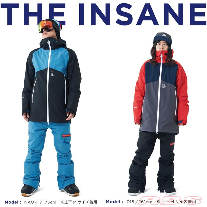 スノーボード ゴアテックス GORE TEX ジャケット INSANE REW 18