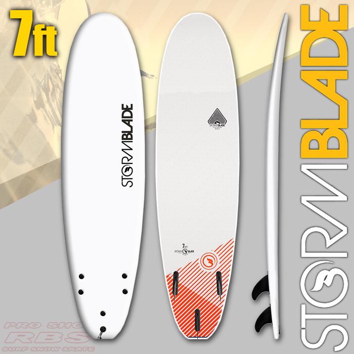 STORM BLADE ストームブレード 7 SURFBOARD WHITE/WHITE 【サーフィン サーフボード】【ソフトボード スポンジボード】【日本正規品】【代引き不可】