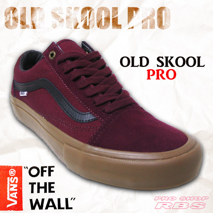 05f40ac684695a Pro Shop RBS  VANS OLD SKOOL 92 PRO BLACK WHITE RED  fs04gm ...