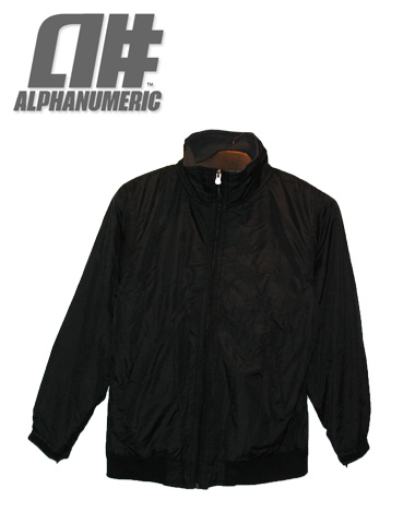 ALPHANUMERIC ジャケット 【カラーBLACK】【アルファヌメリック アウター】715005