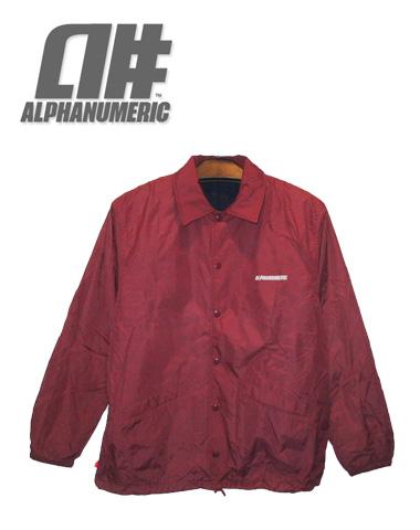 ALPHANUMERIC ナイロンジャケット 【カラーRUBY】【アルファヌメリック アウター】715005