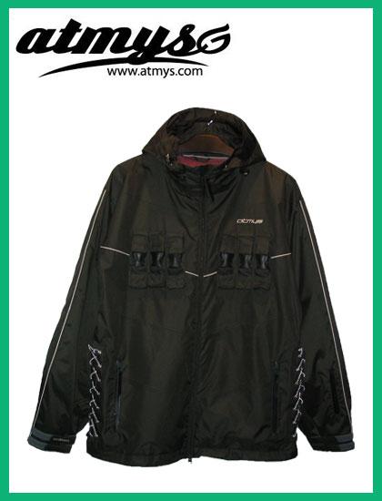 ATMYS CHOKEジャケットカラー LIMITED BLACK【アトマイズ ウェア】【送料無料】【日本正規品】