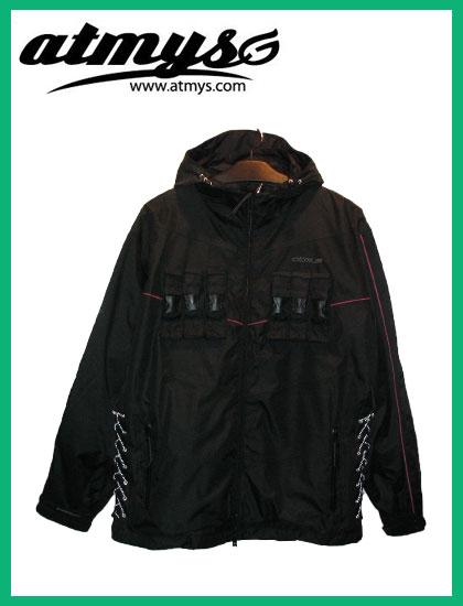 ATMYS CHOKEジャケットカラー BLACK×PINK【アトマイズ ウェア】【送料無料】【日本正規品】
