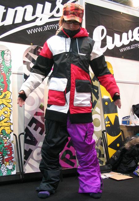 ATMYS アトマイズ MAGICAL ジャケット TRICO2 MAGICAL パンツ PURPLE 上下セット 【スノーボード ウェア】【日本正規品】