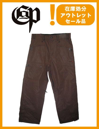 COMMAND 9 PROJECT PANTS カラー BROWN【コマンドナイン パンツ】【スノーボード ウェア】【SS02P02dec12】715005
