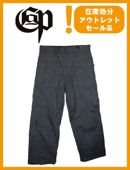 COMMAND 9 PROJECT RBV PANTS カラー GRAY BLACK 【コマンドナイン パンツ】【スノーボード ウェア】【日本正規品】