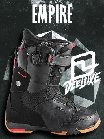 13-14 NEW モデル ★販売開始★ DEELUXE EMPIRE BLACK 【ディーラックス エンパイア】【13-14 スノーボード ブーツ】【送料無料】715005