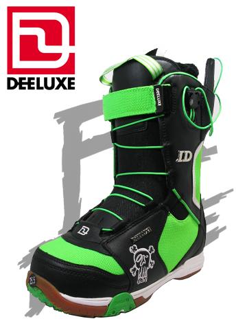DEELUXE ブーツ ID FICHTL TF カラー BLACK/GREEN アイディー【ディーラックス 送料無料】 715005