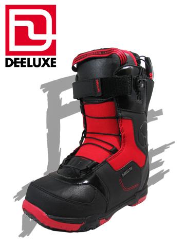 DEELUXE ブーツ EMPIRE TF カラー BLACK/RED エンパイア【ディーラックス 送料無料】 715005