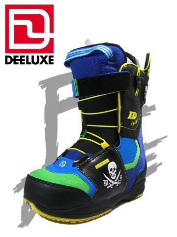 DEELUXE ブーツ ID FICHTL TF カラー BLACK/BLUE/GREEN アイディー【ディーラックス 送料無料】 715005