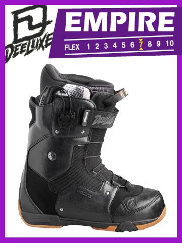 DEELUXE EMPIRE Black【ディーラックス エンパイア ブラック】【12-13 スノーボード ブーツ】715005