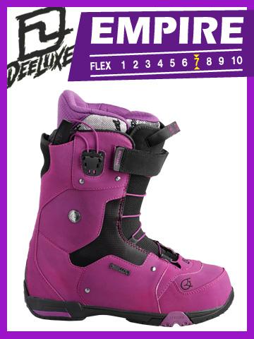 12-13 DEELUXE ブーツ EMPIRE Black/Purple エンパイア ブラック パープル【ディーラックス 送料無料】 715005