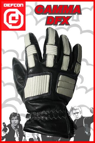 DEFCON グローブ GAMMA カラー BLACK×WHITE 【デフコン グローブ】【スノーボード】【日本正規品】