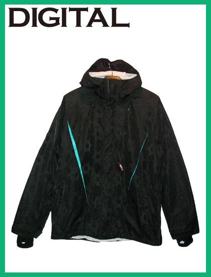 DIGITAL ANALOGYジャケットカラー BLACK×EMERALD【デジタル ウェア】715005