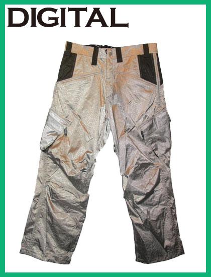 DIGITAL PANTSカラー SILVER【デジタル パンツ】【スノーボード ウエア】715005