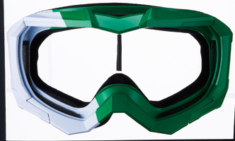 FATFIVE BLOCKEN GREEN-WHITE【スノーボード ゴーグル】【ファットファイブ】【フレーム&ベルト】715005
