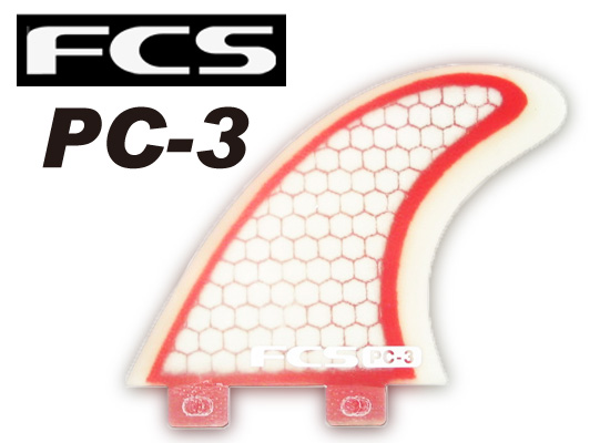 【メール便無料】 FCS フィンPC-3【カラー【カラー CLEAR RED】 CLEAR【サーフィン】 FCS【サーフボード】715005, タテヤマシ:5ed5e18e --- studd.xyz