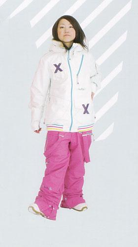 ★新品未開封FONICA MONICA バギーパンツ L-PINK【フォニカ モニカ】【スノーウェア 送料無料 日本正規品】