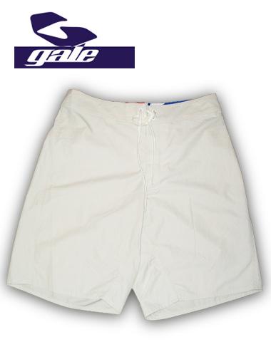 GALEボードショーツ サーフトランクス【カラー WHITE】715005