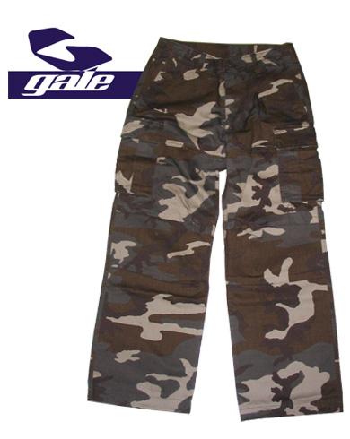 GALE CARGO PANTS【カラー CAMO】【ゲール】【カーゴパンツ】715005