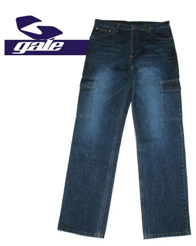 GALE DENIM PANTS【カラー インディゴブルー】【ゲール】【デニムパンツ】715005