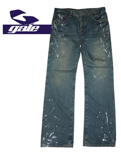 GALE DENIM PANTS【カラー インディゴ】【ゲール】【デニムパンツ】715005
