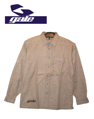 GALE シャツ【カラー BEIGE】【長袖シャツ】【ゲール】715005