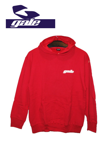 GALE  LOGO パーカー  【カラー RED 】【ゲール】715005