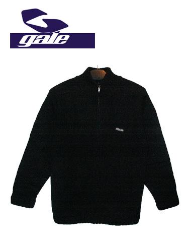 GALE ジップセーター 【カラー BLACK 】【ゲール】715005