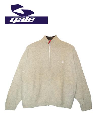 GALE ジップセーター 【カラー WHITE 】【ゲール】715005