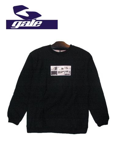 GALE トレーナー 【カラー BLACK 】【ゲール】715005