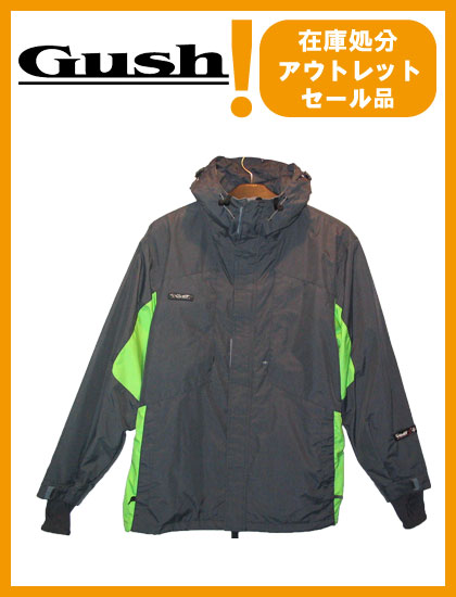 GUSH EXPERT JACKET カラー GRAY×GREEN 【ガッシュ ジャケット】【スノーウェア】