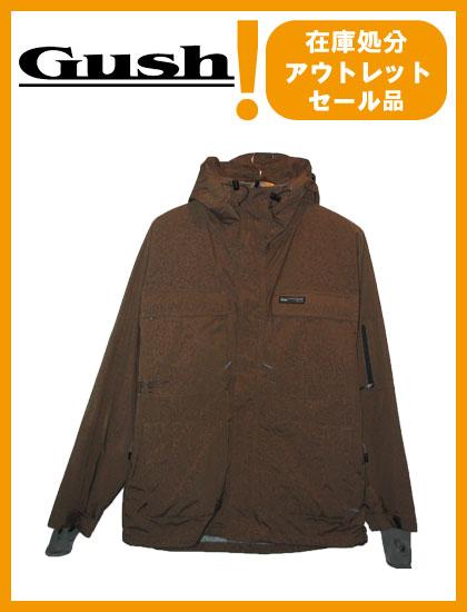 GUSH GROUND JACKET カラー BROWN 【ガッシュ ジャケット】【スノーウェア】