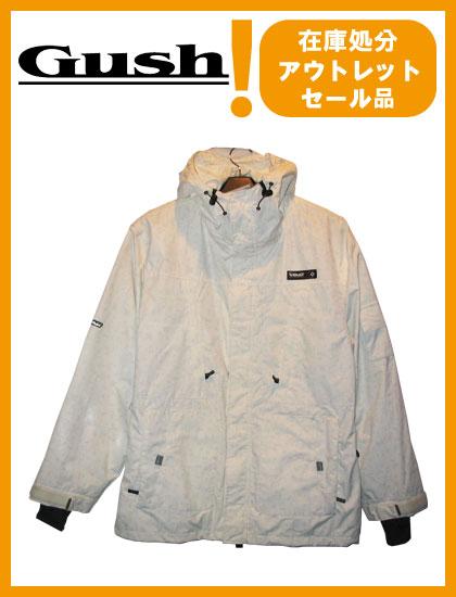 GUSH GROUND JACKET カラー WHITE 【ガッシュ ジャケット】【スノーウェア】715005