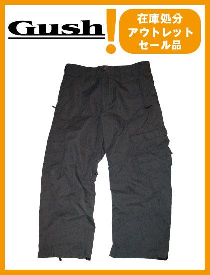 GUSH GROUND PANTS カラー GRAY 【ガッシュ パンツ】【スノーボード ウェア】