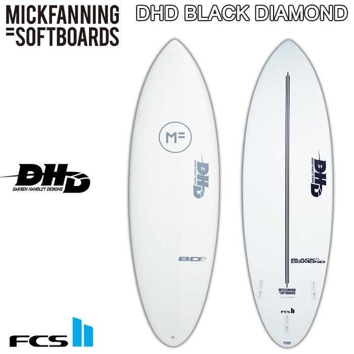 MICK FANNING SOFT BOARDS DHD THE BLACK DIAMOND 5'10 6'6 6'10 ミックファニング ソフトボード ダレンハンドレー ブラックダイアモンド ショートボード 【サーフボード サーフィン 日本正規品】